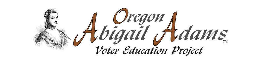 Join us at the Oregon Abigail Adams Project.